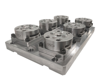 6 in 1 D100 3M Manual Chuck with CNC Base